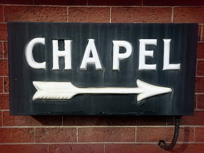 Photograph - Chapel by Joseph Skompski
