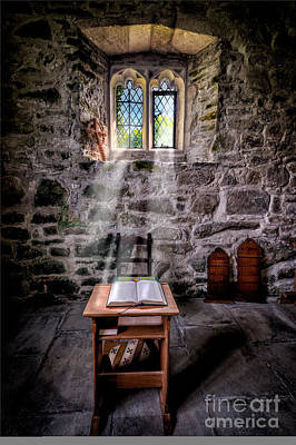 Chapel Light Art Print by Adrian Evans