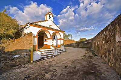 Chapel Of Castelo De Vide Art Print by David Letts