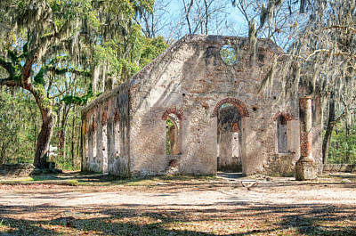 Photograph - Chapel Of Ease - Front by Scott Hansen