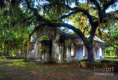 Stone Buildings Photograph - Chapel Of Ease by Mel Steinhauer