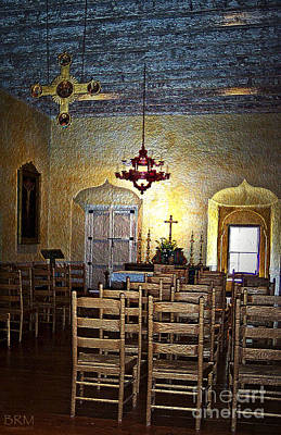 Mission San Juan Bautista Photograph - Chapel Of Guadalupe by Barbara R MacPhail