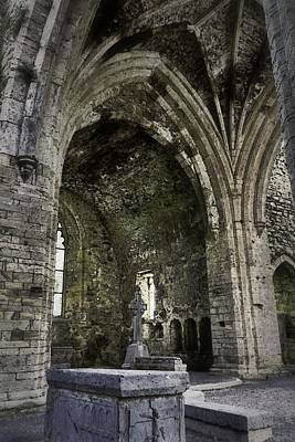 Photograph - The Chapel Of Jerpoint Abbey by Nadalyn Larsen