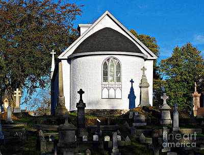 Photograph - Chapel Of Our Lady Of Sorrows by Ethna Gillespie