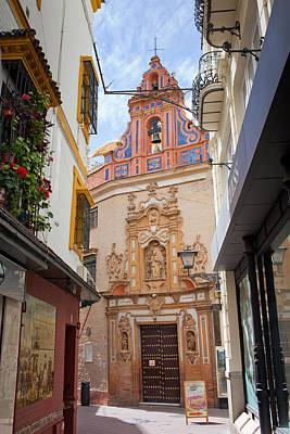 Chapel Of St. Joseph Of Seville Art Print by Artur Bogacki