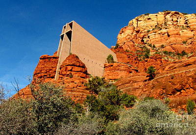 Marilyn Photograph - Chapel Of The Holy Cross 2 by Marilyn Smith