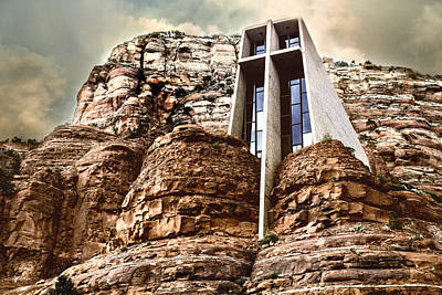 Chapel Of The Holy Cross Art Print