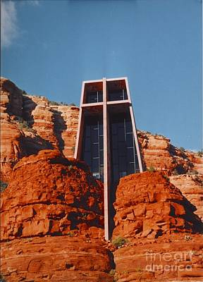 Rock Altar Photograph - Chapel Of The Holy Cross by Kathleen Struckle