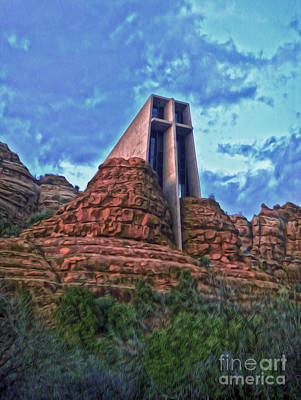 Chapel Of The Holy Cross - Sedona Arizona Art Print by Gregory Dyer