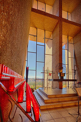 Photograph - Chapel Of The Holy Cross Sedona Az Church by Scott Campbell