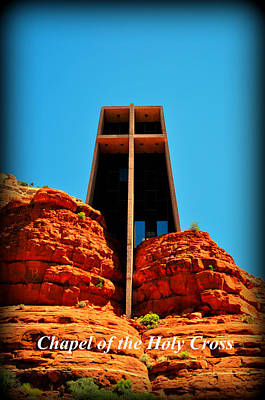 Katharine Hepburn - Chapel Of The Holy Cross by Thomas Shockey
