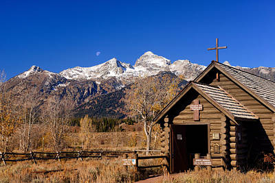Tetons Photograph - Chapel Of The Transfiguration by Greg Norrell