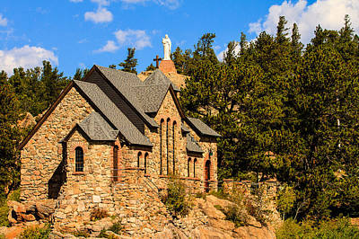Photograph - Chapel On The Rock by Ben Graham
