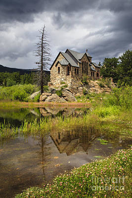 Saint Catherine Of Siena Chapel Photograph - Chapel On The Rock by Dennis Hedberg