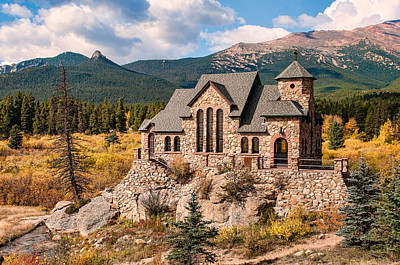 Saint Catherine Of Siena Chapel Photograph - Chapel On The Rock by John Bielick