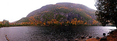 Photograph - Chapel Pond Panorama by Jim DeLillo