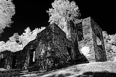 Virginia Ruins Photograph - Chapel Ruins - 659 by Paul W Faust -  Impressions of Light