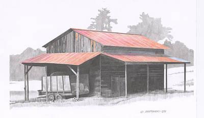 Chapin Barn Art Print by Paul Shafranski