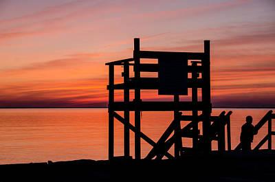 Photograph - Chapoquoit Sunset by Jennifer Kano