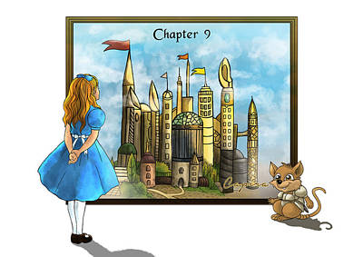 Art Print featuring the painting Chapter Nine by Reynold Jay
