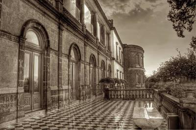 Tower Photograph - Chapultepec Castle by Genaro Rojas