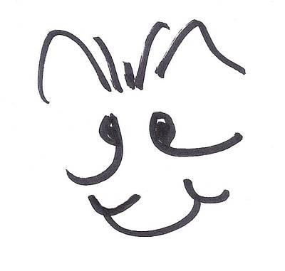 Brett Artist Drawing - Character Creation - Bridgeget by Brett Smith