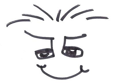 Brett Artist Drawing - Character Creation - Maxib by Brett Smith