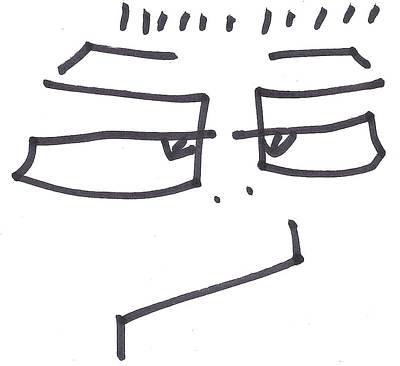 Brett Artist Drawing - Character Creation - Bgul by Brett Smith