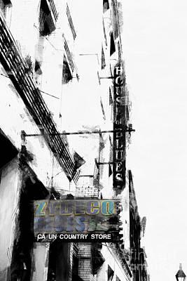 Characteristics Of New Orleans-zydeco Blues Art Print by Douglas Barnard