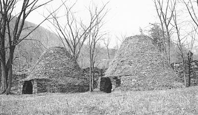 Charcoal Photograph - Charcoal Furnaces by Hagley Museum And Archive