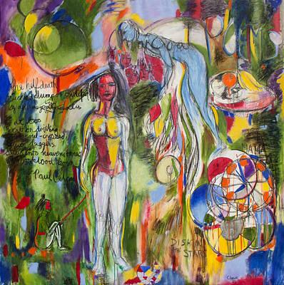 Charcoal Poems Art Print by Brenda Clews