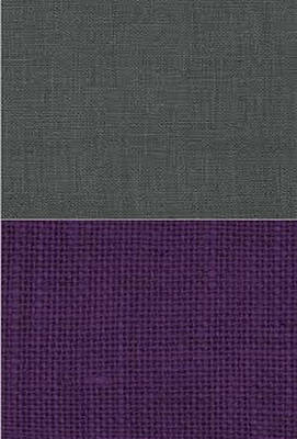 Tapestries Textiles Tapestry - Textile - Charcoal With Purple by Margaret Ivory