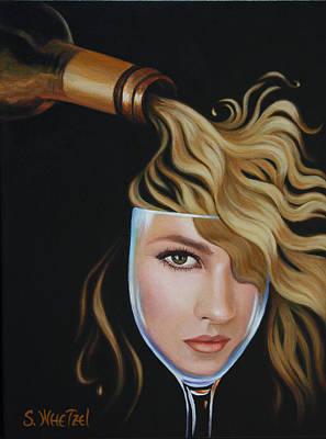 Painting - Chardonnae by Sandi Whetzel