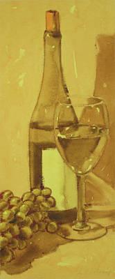 Painting - Chardonnay by Joe Schneider