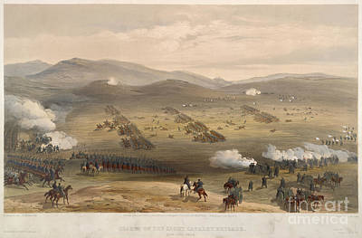 Charge Of The Light Brigade Art Print by British Library