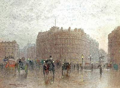 Charing Cross Art Print by MotionAge Designs