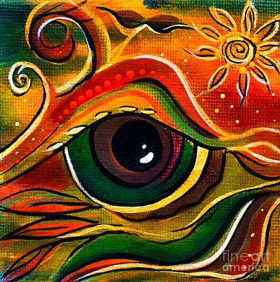 Charismatic Spirit Eye Art Print