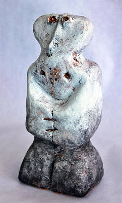 Totem Figure Sculpture - Charlatan No. 3 by Mark M  Mellon