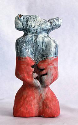 Totem Figure Sculpture - Charlatan No. 4 by Mark M  Mellon