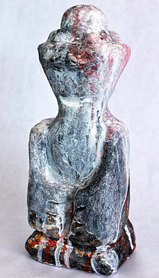 Outsider Sculpture - Charlatan No. 5 by Mark M  Mellon