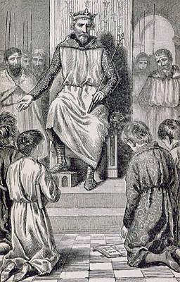 Charlemagne Art Print