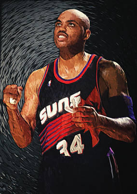 Recently Sold - Sports Royalty-Free and Rights-Managed Images - Charles Barkley by Zapista OU