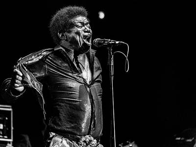 Energy Wall Art - Photograph - Charles  Bradley  In Memory by Jois Domont (