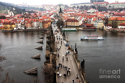 Charles Bridge I Art Print by John Rizzuto