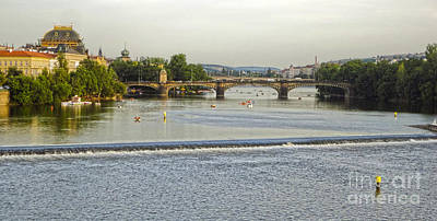 Sk Stones Photograph - Charles Bridge In Prague - 03 by Gregory Dyer