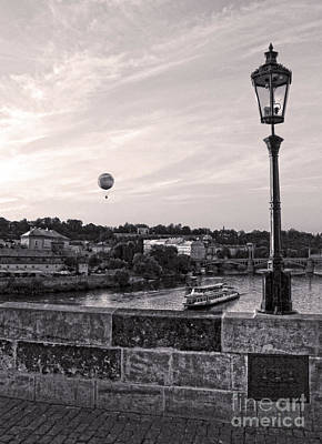 Sk Stones Photograph - Charles Bridge In Prague - 15 by Gregory Dyer