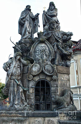 Sk Stones Photograph - Charles Bridge In Prague - 19 by Gregory Dyer