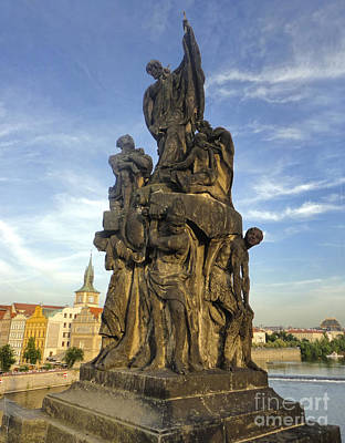 Sk Stones Photograph - Charles Bridge In Prague - 04 by Gregory Dyer