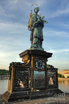 Sk Stones Photograph - Charles Bridge In Prague - 06 by Gregory Dyer