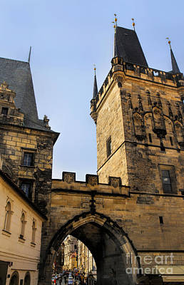 Photograph - Charles Bridge Prague by Brenda Kean
